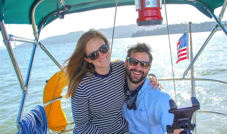 So far, so good for Audrey and Garrett in their new liveaboard life. Photo: Audrey And Garrett Ruhland