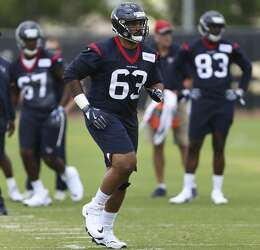 new style 560e5 4a3a1 Texans rookie LB Peter Kalambayi has pass-rushing, special ...