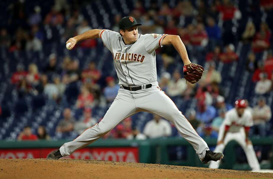 Derek Law has been promoted and optioned three times this season. he has not helped his cause by allowing seven earned runs in nine innings. Photo: Hunter Martin / Getty Images