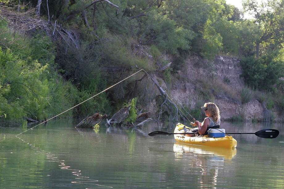Floating and fishing Texas rivers can be at its best in late May and early June, when weather, water level, clarity, current and fish activity come together to create near perfect conditions for paddling anglers. Photo: Shannon Tompkins / Houston Chronicle