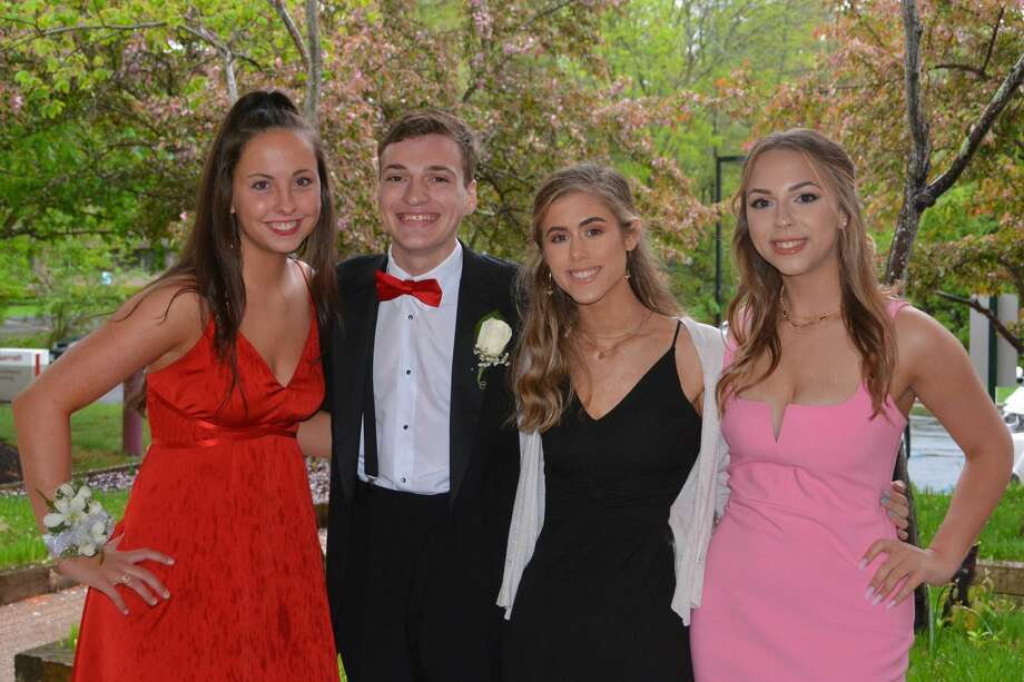 Fairfield Ludlowe High School held its senior prom at the Trumbull Marriott on May 12, 2018. The senior class graduates June 20. Were you SEEN at prom? Photo: Vic Eng / Hearst Connecticut Media Group