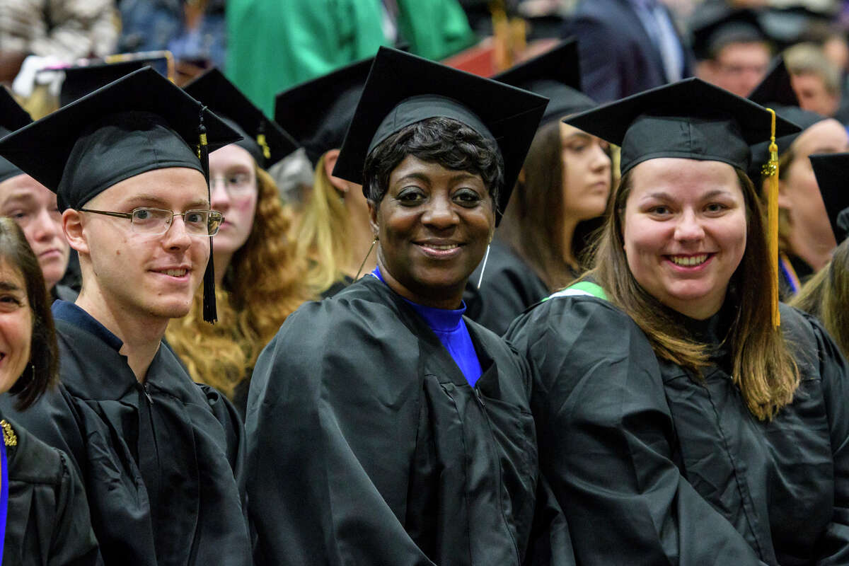 Were you Seen at Hudson Valley Community College's 64th annual Commencement ceremony at the McDonough Sports Complex on campus on May 12, 2018?