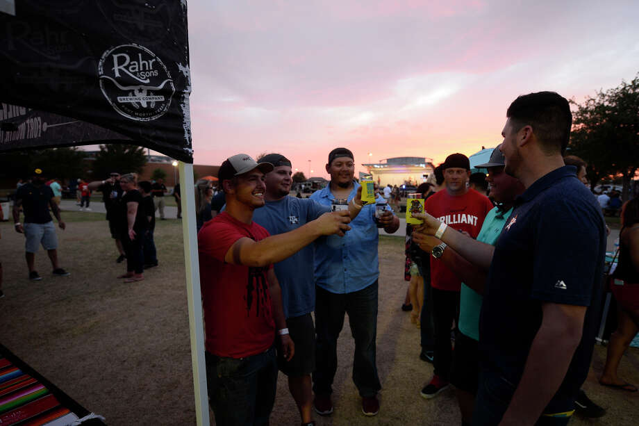 Beer Garden Brewstival May 12, 2018, at Cimarex Energy Pavilion. Event featured beer tasting, food trucks and live music.  James Durbin/Reporter-Telegram Photo: James Durbin