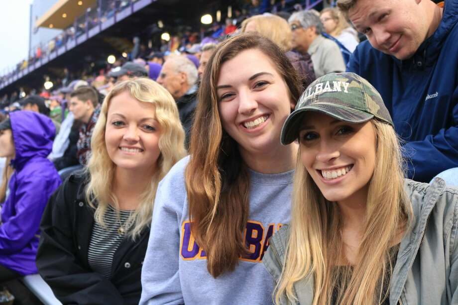 Were you Seen at Casey Stadium during UAlbany men's lacrosse 18-9 win over the University of Richmond in the first round of the NCAA Tournament on May 12, 2018? Photo: Rina Kusano