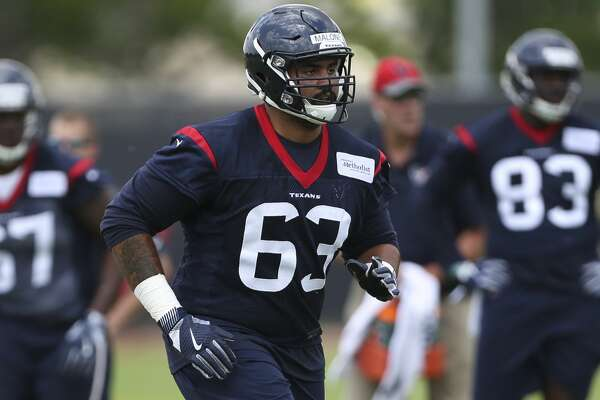 The Houston Texans rookie player K.J. Malone is photographed during a training at the 2018 Houston Texans Rookie Minicamp on Saturday, May 12, 2018, in Houston. ( Yi-Chin Lee / Houston Chronicle )