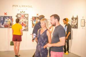 Artists, musicians, fashion and food trucks filled Southtown's Lone Star neighborhood for one of San Antonio's longest running art events, Second Saturday Artwalk, on Saturday May 12, 2018.