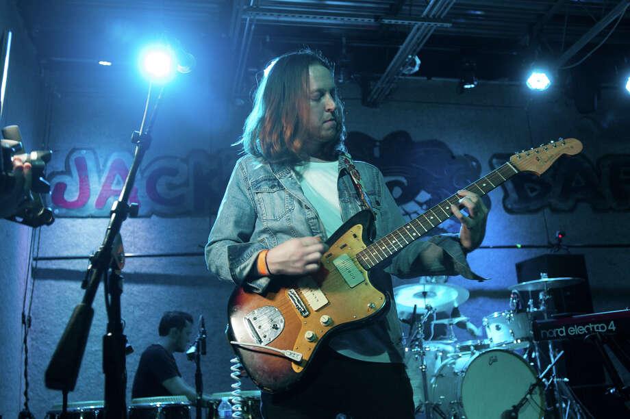 Local rockers Hydra Melody headlined a night of rock Saturday, May 12, 2018, at Jacks' Bar. Photo: Isa Ammeter For MySA
