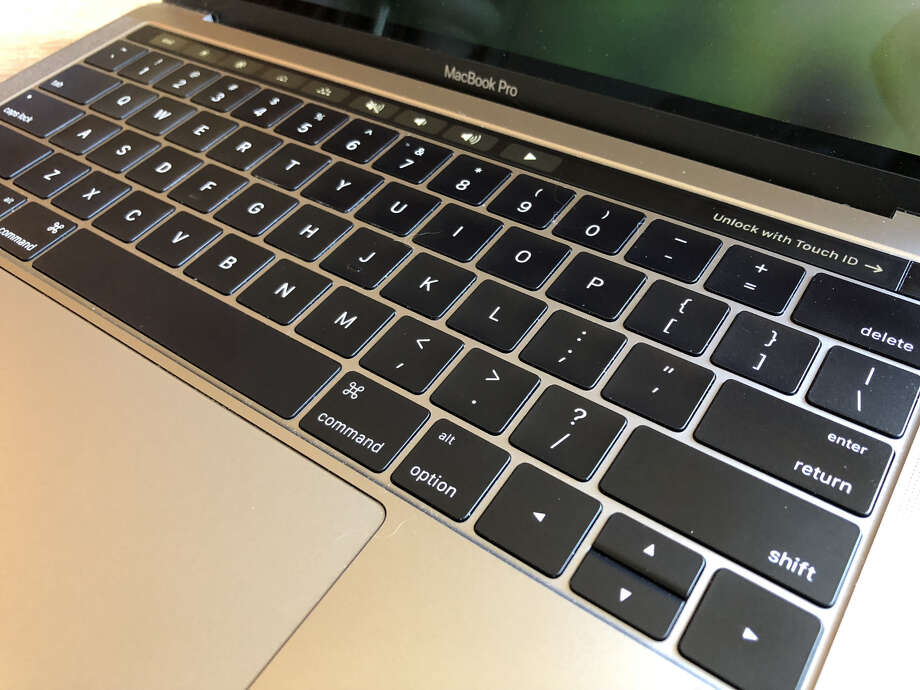 Newer MacBook Pro keyboards are prone to unresponsive keys on the keyboards, a federal lawsuit alleges. Photo: Dwight Silverman / Houston Chronicle