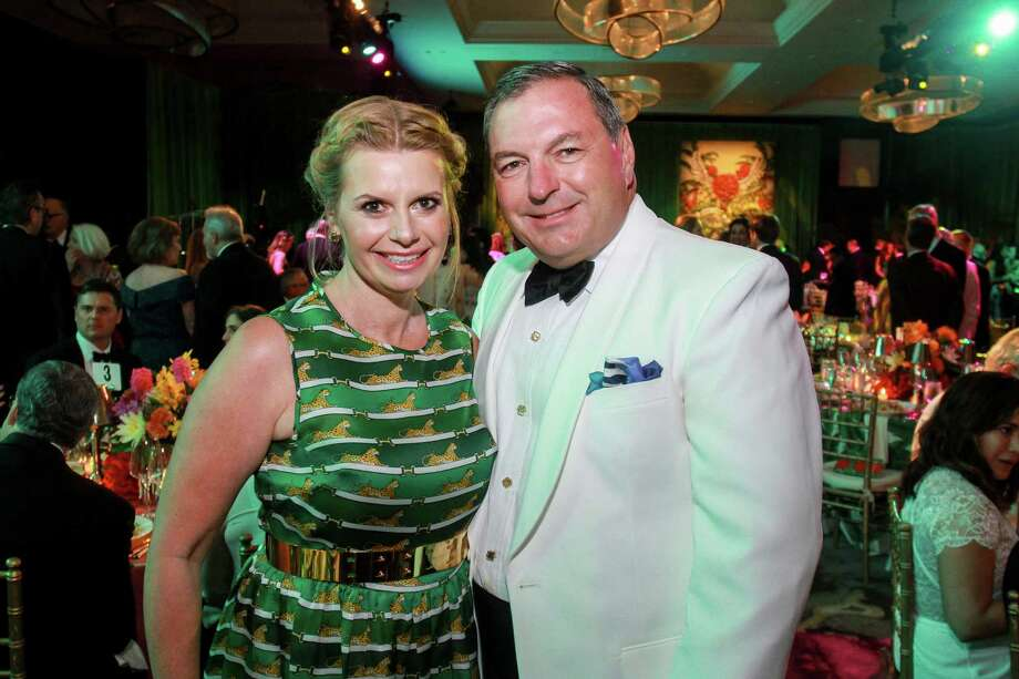 Valerie and Tracy Dieterich at the Symphony Ball. Photo: Gary Fountain, For The Chronicle / Copyright 2018 Gary Fountain