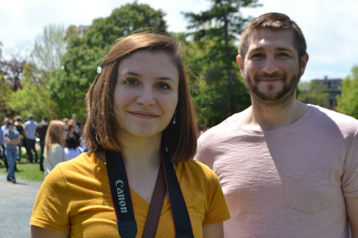 Were you Seen at the 70th Annual Tulip Festival on May 13, 2018, in Washington Park in Albany, N.Y.?