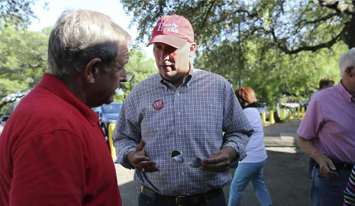 Congressional District 21 Republican candidate Chip Roy, seen on May 11, got his strongest support from Travis, Comal and Bexar counties