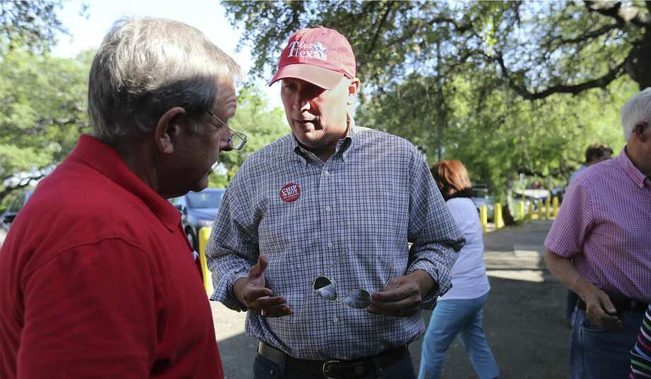 Congressional District 21 Republican candidate Chip Roy, seen on May 11, got his strongest support from Travis, Comal and Bexar counties Photo: Kin Man Hui /San Antonio Express-News / ©2018 San Antonio Express-News