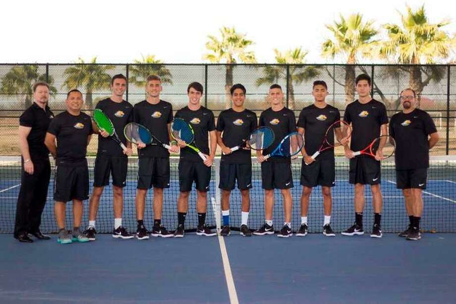 The fifth-ranked Palominos men's tennis team opens the NJCAA national championships in Plano on Monday. Photo: Courtesy Of LCC Athletics