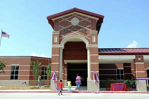 Hundreds of people attend the Grand Opening and Dedication ceremony at the new Fehl-Price Elementary in Beaumont in August. Enterprise file photo.