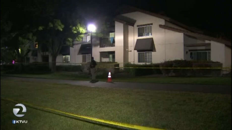 One man is dead following a stabbing at a residential dormitory at Sonoma State University in Rohnert Park. Photo: KTVU