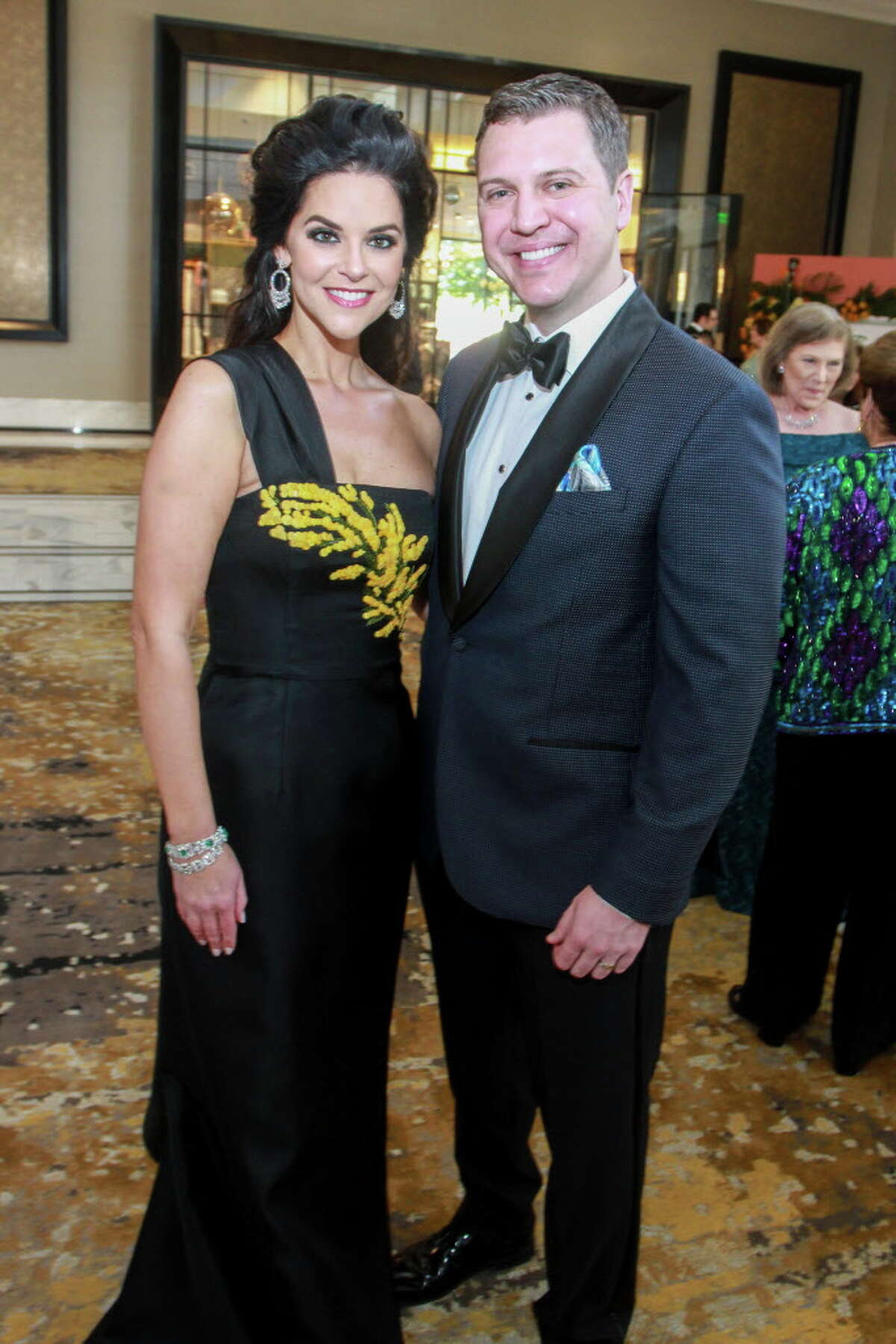 Ann and Jonathan Ayre at the Symphony Ball.