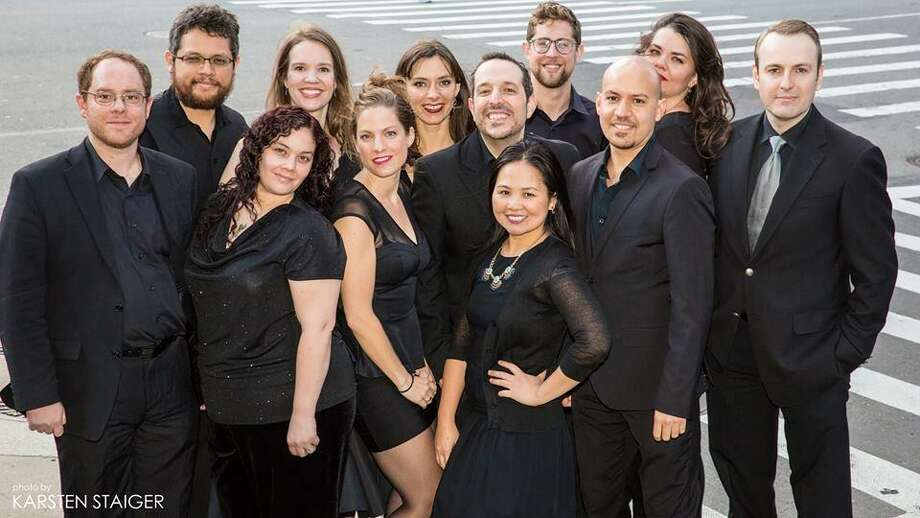 The Salvatones, a New York singing ensemble, will perform at 5 p.m. on May 19 at St. Lukes Church, 1864 Post Road, in Darien to raise funds for Saint Luke's Friends of Music programming. Photo: Contributed Photo