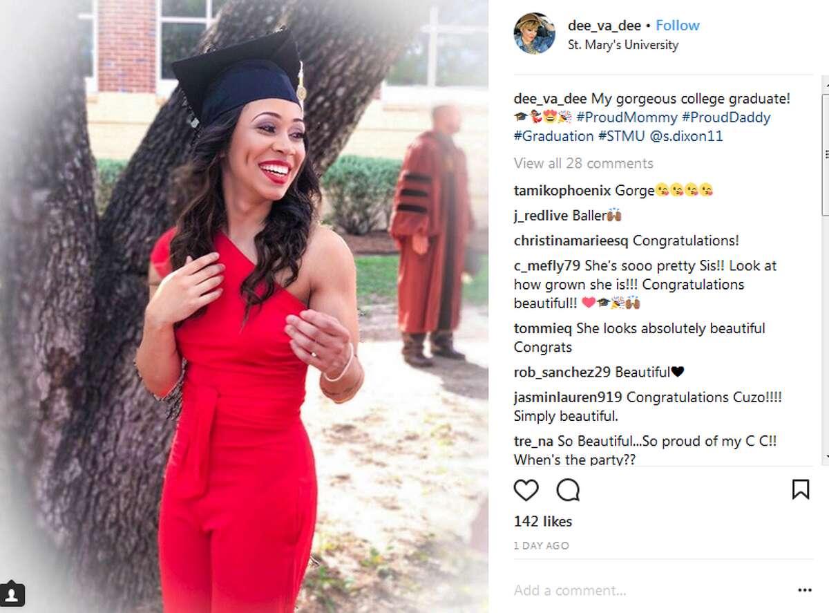 dee_va_dee: My gorgeous college graduate! #ProudMommy #ProudDaddy #Graduation #STMU @s.dixon11