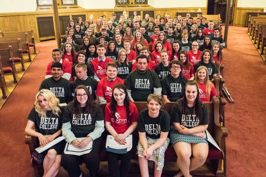 One hundred graduating seniors from Bay County high schools will receive a $2,000 scholarship to attend Delta College or Saginaw Valley State University.  (Photo provided)