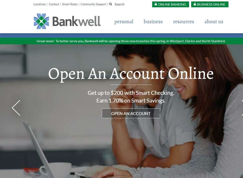 On Monday, May 14, 2018, Bankwell Financial Group began offering customers the option of opening accounts online rather than at a branch, with the New Canaan-based company on the cusp of opening three new branches in Darien, Stamford and Westport.