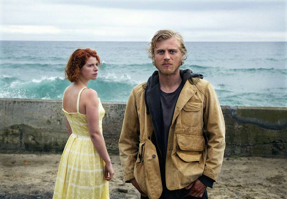 "Jessie Buckley (left) plays the troubled Moll, who is drawn to suspected serial killer Pascal, played by Johnny Flynn, in Michael Pearce's stylish psychodrama ""Beast."" Photo: Roadside Attractions"
