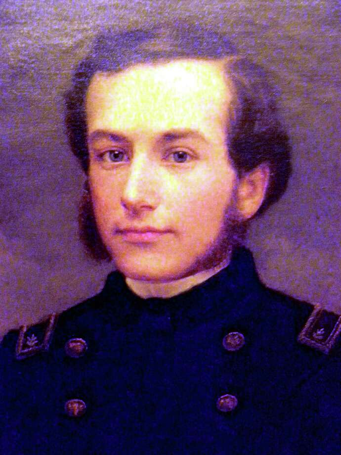 Lt. Col. Henry Merwin, a former Brookfield resident, killed July 2, 1863 on the battlefield at Gettysburg. Photo: / Contributed Photo