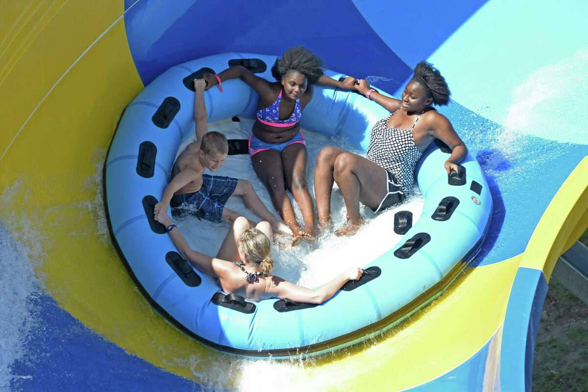 Ride/slide: Twister Location: Katy, Texas Park: Typhoon Texas Waterpark Person: Male, age 51 Incident:Guest hit his toe on another guests heel Injury: Swollen middle toe