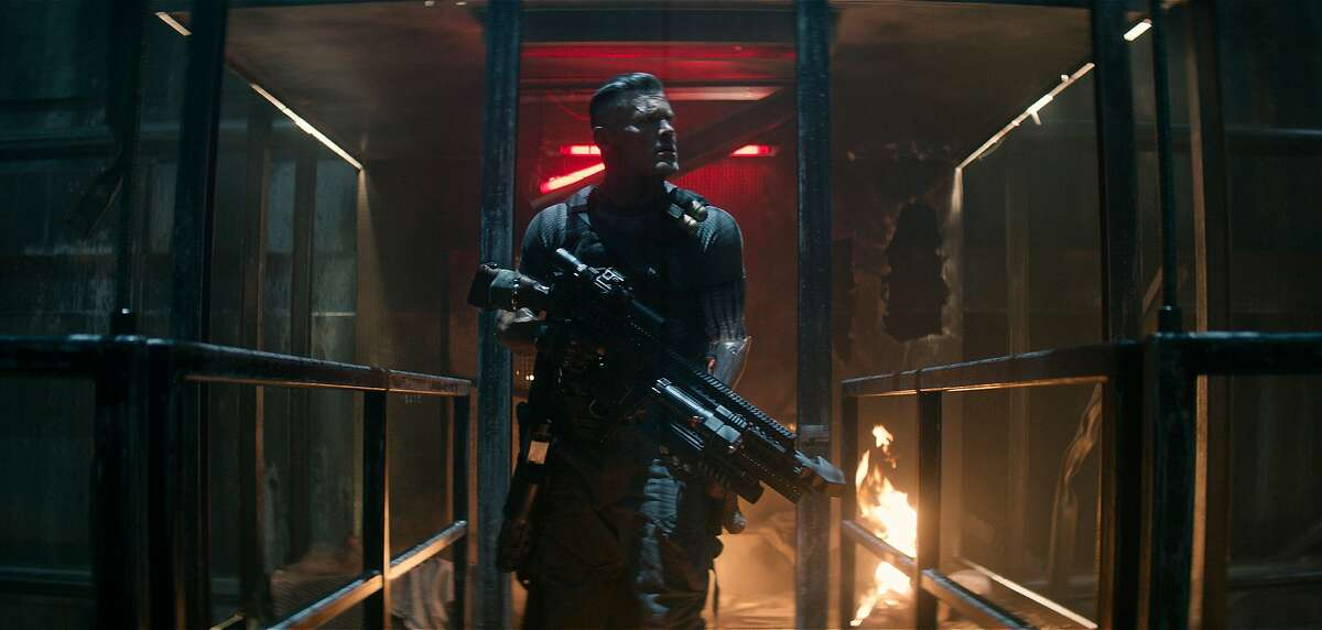 "This image released by Twentieth Century Fox shows Josh Brolin in a scene from ""Deadpool 2."" (Twentieth Century Fox via AP)"