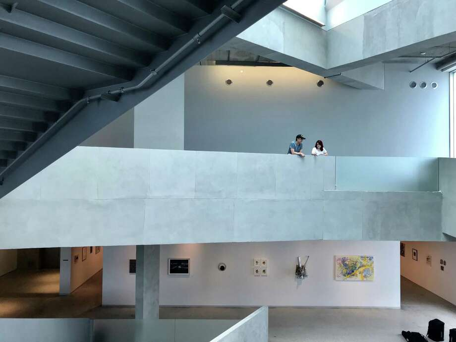 A view inside the Glassell School of Art on Monday, May 14, 2018. Photo: Molly Glentzer, Houston Chronicle
