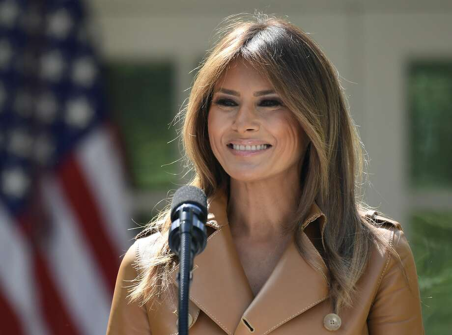 A spokeswoman for Melania Trump said the surgical procedure on the 48-year-old first lady was successful and there were no complications. Photo: Susan Walsh / Associated Press