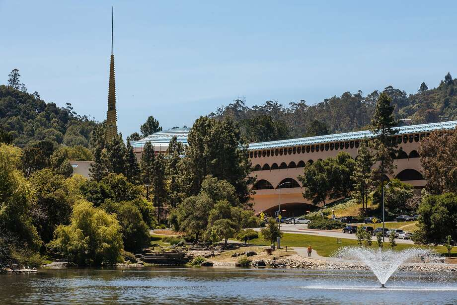 The Frank Lloyd Wright-designed Marin County Civic Center photographed in San Rafael. Photo: Mason Trinca / Special To The Chronicle