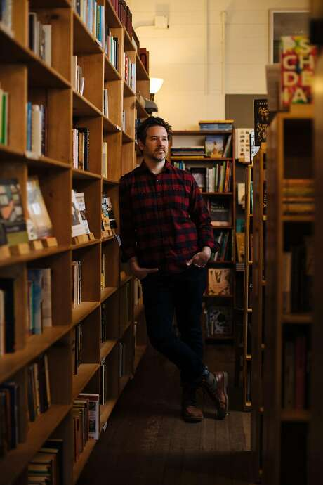 Stephen Sparks took a big chance when he bought Point Reyes Books with his wife, Molly Parent. Photo: Mason Trinca / Special To The Chronicle