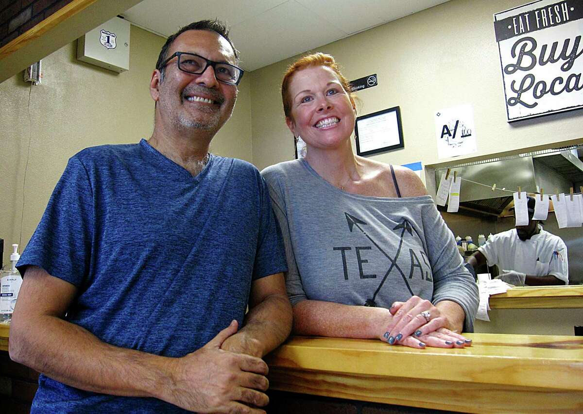 Anang Mehta, left, and Morgan Mehta started Thyme for Lunch in 2016.