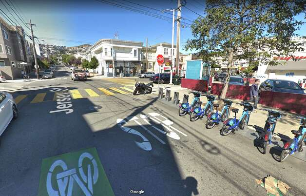 Sadly, the car barn is no more and the tracks are long-gone too. There are no existing Castro cable cars; they were sent to scrap. Katie Dowd is a senior digital editor with SFGATE. Email her: katie.dowd@sfgate.com. Photo: Google Street View