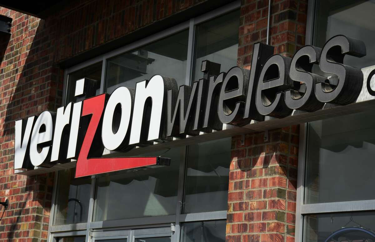 FILE - The entrance to a Verizon Wireless store in Santa Fe, New Mexico. A California woman reportedly urinated on the floor of a Verizon store after being asked to leave.