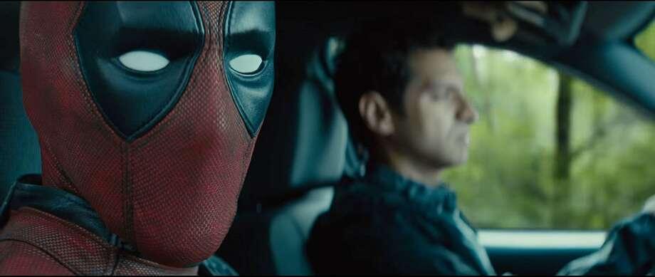 "Ryan Reynolds and Karan Soni in ""Deadpool 2."" (Marvel Entertainment)"