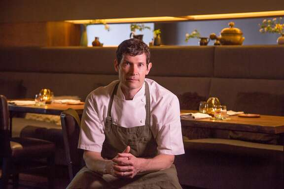 Chef Daniel Patterson of Coi in  San Francisco, Calif., is seen on March 26th,  2015.