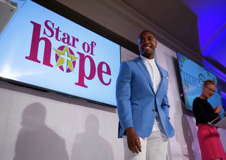 Chauncey Glover during Haute for Hope, Star of Hope's 20th Annual Celebrity Fashion Show and Luncheon at the River Oaks Country Club on Friday, May 11, 2018.