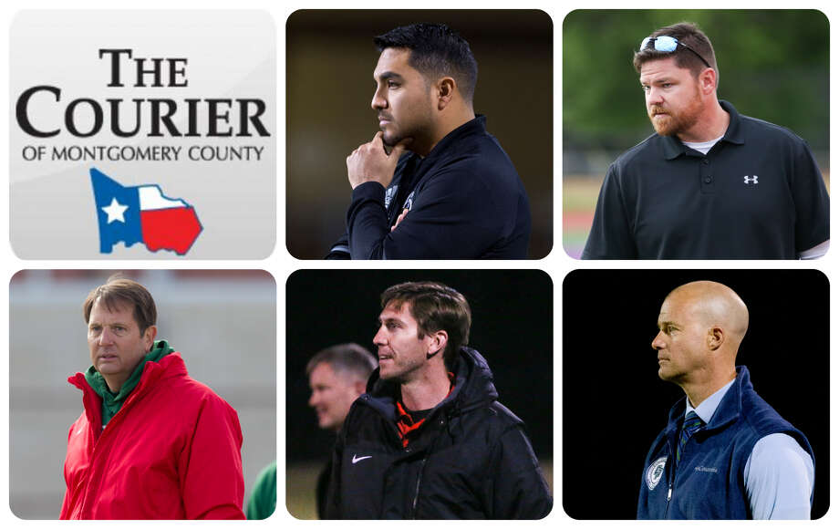 Conroe's Victor Trejo, Magnolia West's Alex Morris, The Woodlands' Hans Kleinschmidt, Caney Creek's Andrew McGregor and College Park's John Owens are The Courier's nominees for Coach of the Year.