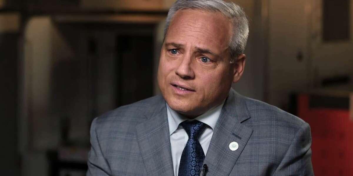 GlobalFoundries CEO Tom Caulfield during his interview Monday with Bloomberg TV host Erik Schatzker.
