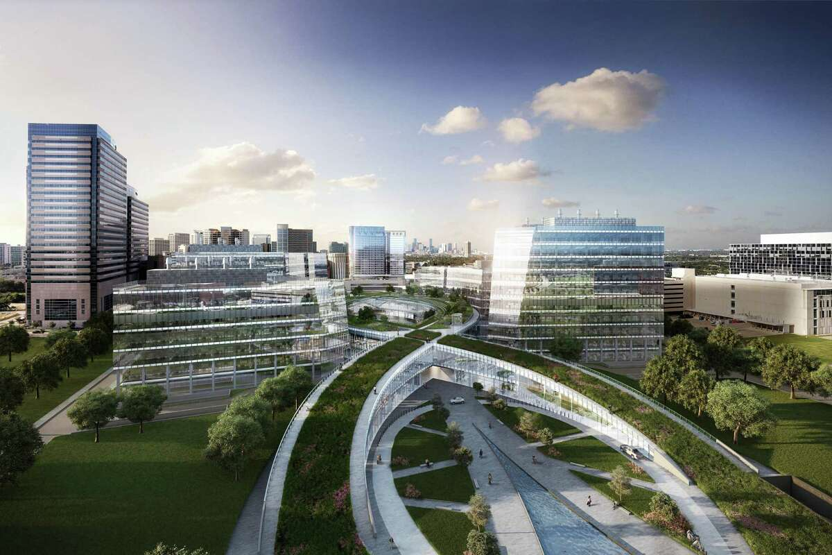 Rendering of TMC3 project at Texas Medical Center.