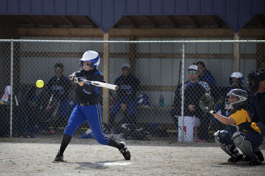 Coleman's Makailyn Monson is a talented athlete in both softball and track and field. (Daily News file photo)