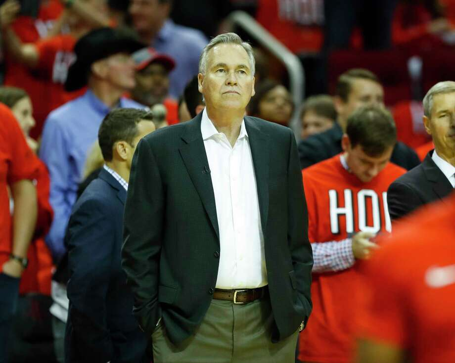 After taking shots from national media following his team's Game 1 loss, Mike D'Antoni got the last laugh after a resounding Rockets victory in Game 2. Photo: Brett Coomer, Houston Chronicle / © 2018 Houston Chronicle