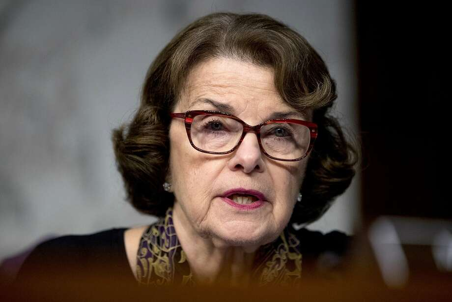 Sen. Dianne Feinstein, D-Calif., at a hearing in Washington, D.C. Photo: Andrew Harnik / Associated Press