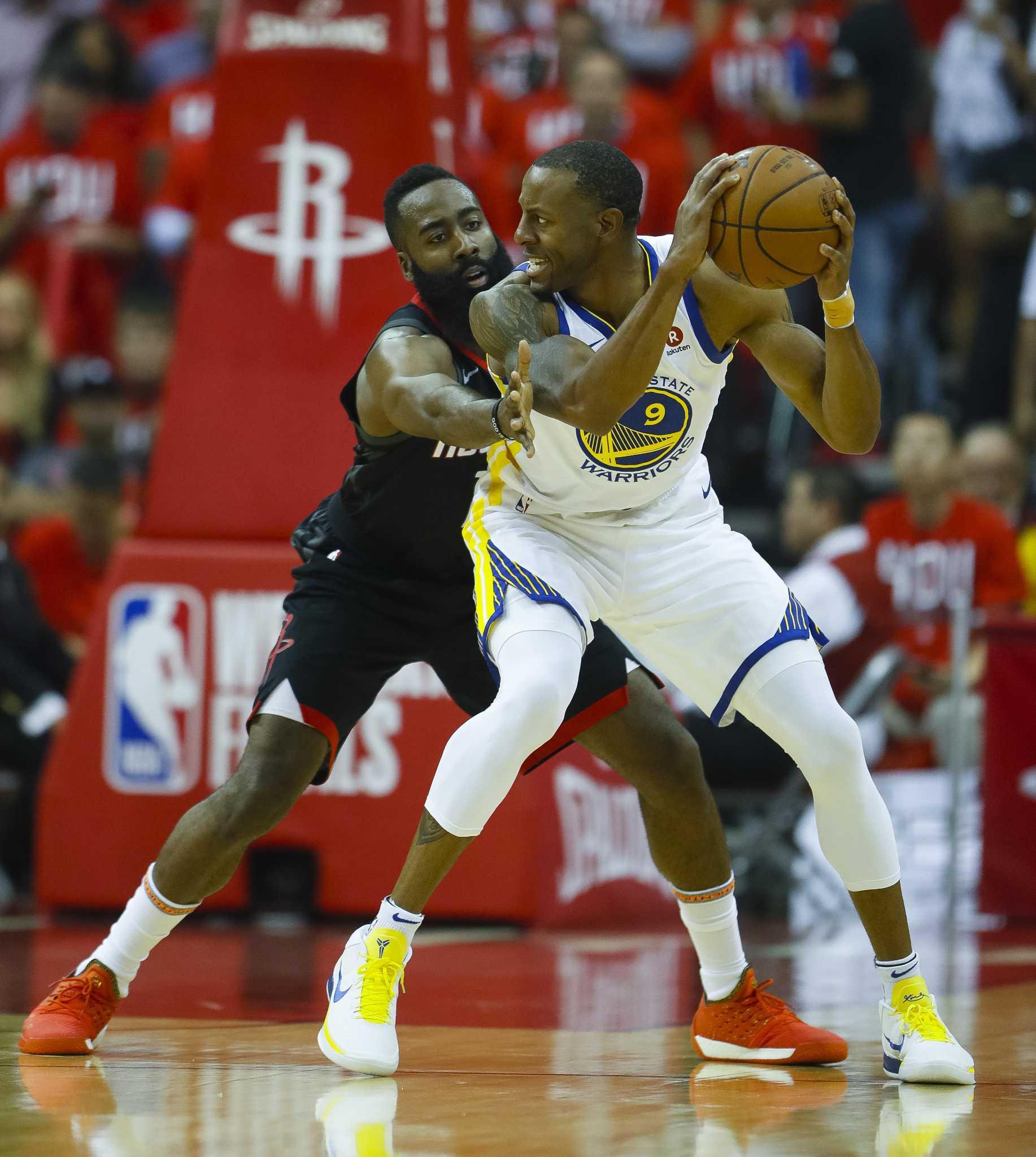 Warriors' 'Hampton 5' Lineup Creates Issues For Rockets