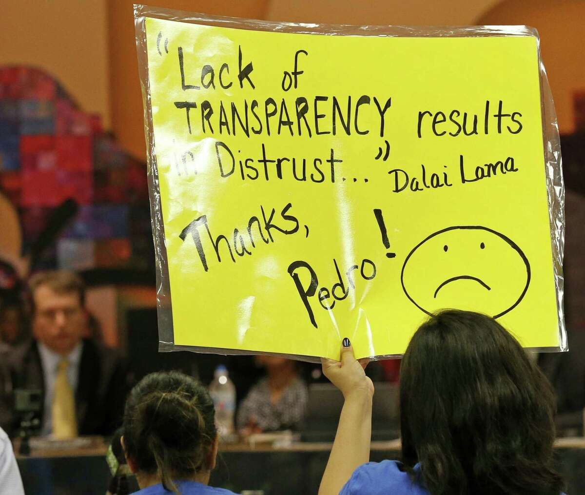 A lack of transparency in SAISD is hurting students and the community.