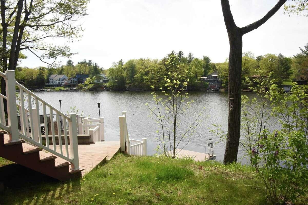 Waterfront homes on Ballston Lake on Monday, May 14, 2018 in Ballston Lake, N.Y. (Lori Van Buren/Times Union)