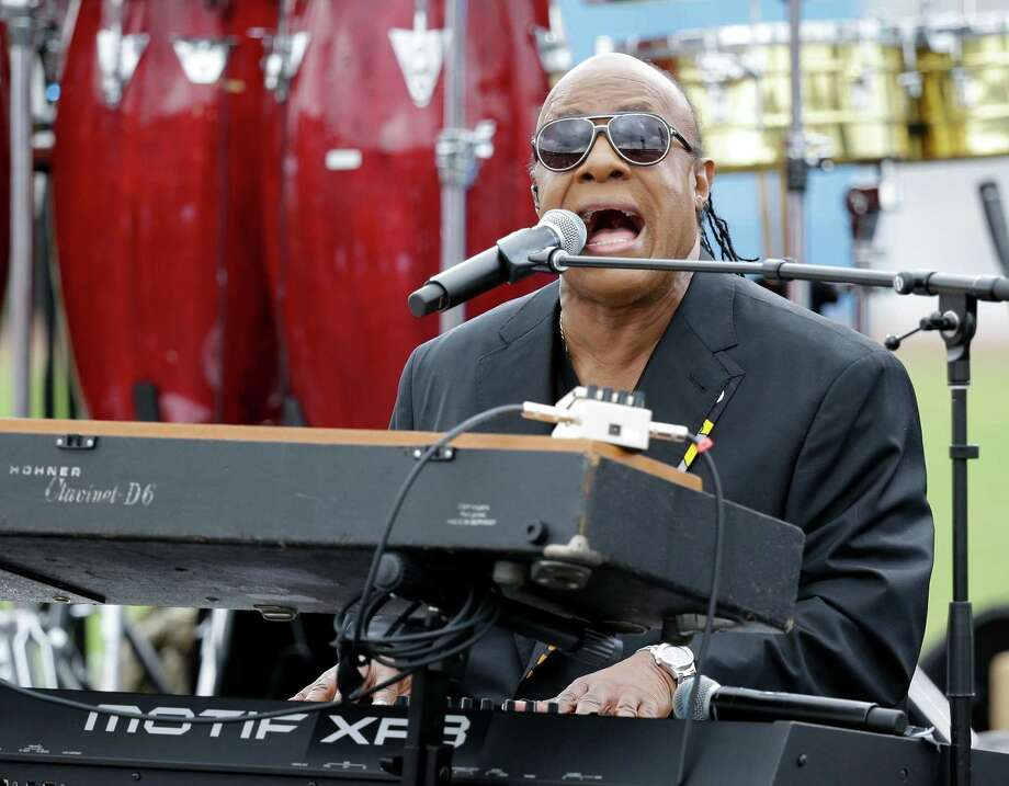 In this Nov. 6, 2016, file photo, musician Stevie Wonder performs at a campaign rally for Democratic presidential candidate Hillary Clinton. Wonder will perform at MassMutual Center at MGM Springfield on Sept. 1, 2018. Photo: John Raoux / Associated Press / Copyright 2016 The Associated Press. All rights reserved.