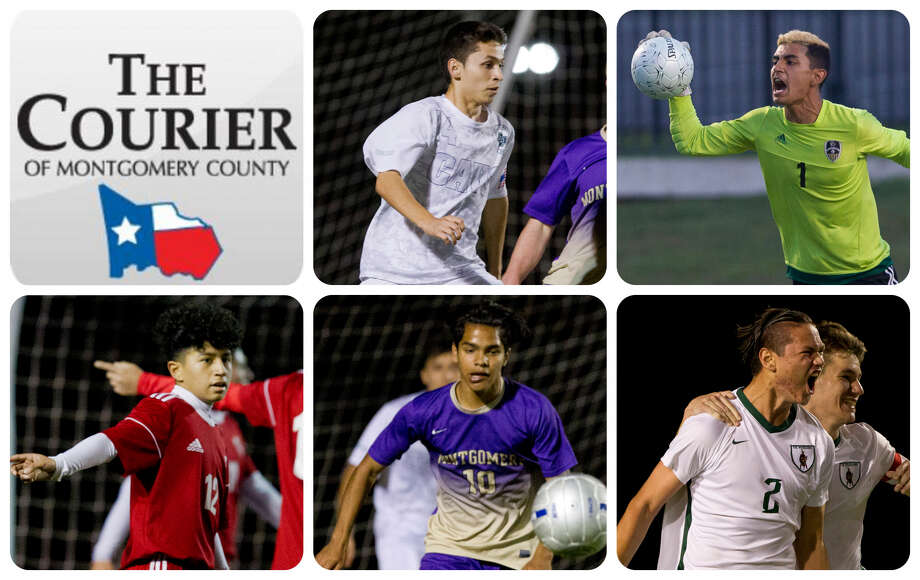 College Park's Jesse Botello, Conroe's Oscar Maldonado, Caney Creek's Ulysses Cruz, Montgomery's Juan Gomez and The Woodlands' Davin Hickman-Chow are The Courier's nominees for Newcomer of the Year.