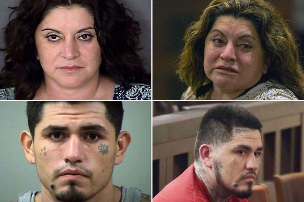 Two major stops on a suspect's long journey through the criminal justice system are the arrest and sentencing. In the following slideshow, the stressful and lengthy process is visible in the suspects' faces, hairstyles and, for a few, new tattoos. Click through to see how the defendants in some of San Antonio's most prominent criminal cases changed from arrest to sentencing.